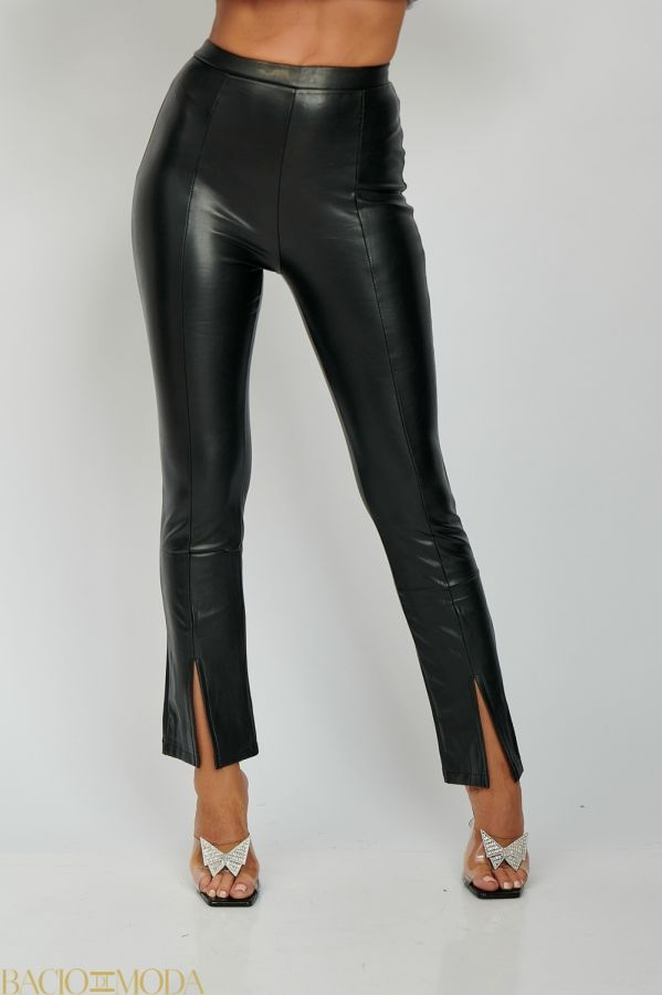 Pantaloni Elisabetta Franchi COD: 1936 Pantaloni Din Eco Piele Cu Despicatura Antonio Bonnati  Cod: 540616