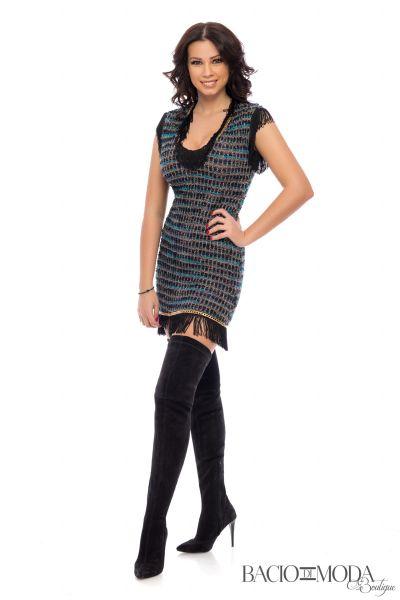 Rochie Antonio Bonnati New Collection Cod:529633 Rochie Bacio di Moda Blue  - COD 0067