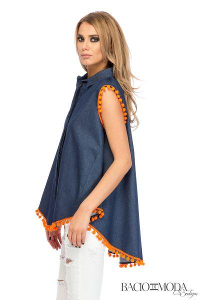 Jeans Camasa Bacio Di Moda Traditional  - COD 0096