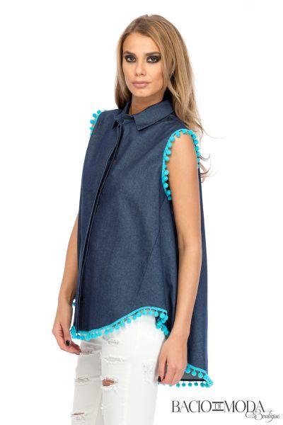Jeans Camasa Bacio Di Moda Traditional  - COD 0097